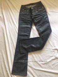 джинсы с напылением