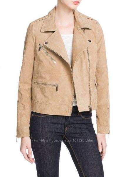 Куртка замшевая Mango р. S