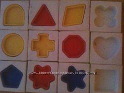 Развивающие кубики сортер мозайка картинки Tomy