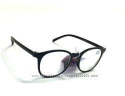 Очки имиджевые круглые для коррекции зрения