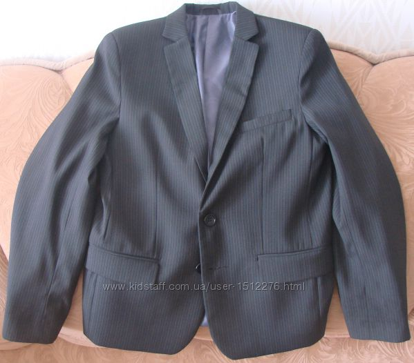 Шкільний костюм піджак і штани Сал-Текс, Україна. Ріст - 152 см