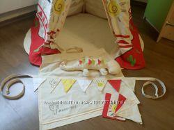 Детский текстильный домик Вигвам Teepee
