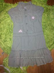 Красивое платье Miss Cherokee на 5-7л, отличное состояние