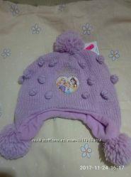 Продам шапку на девочку зима р 104-110