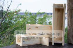 Деревянная форма для мыла с нуля на 2 кг масел