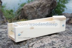 Деревянная форма для мыла c нуля 1 кг масел