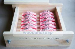Форма для мыла c нуля квадратная деревянная