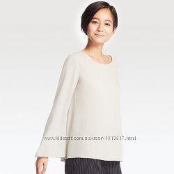 Блуза с длинным рукавом Uniqlo