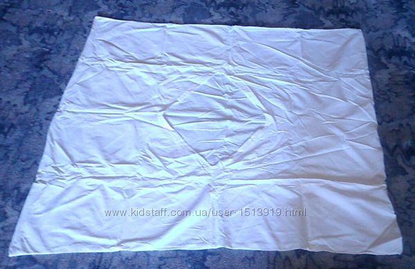 Пододеяльник белый на детское одеяло