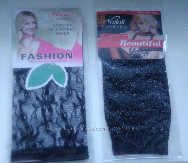 Женские гипюровые носки