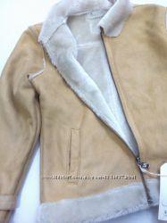 Детская осенняя теплая куртка