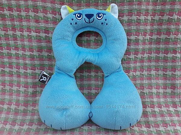 Детская дорожная подушка подголовник Benbat Travel Friends Cat, 1-4 года
