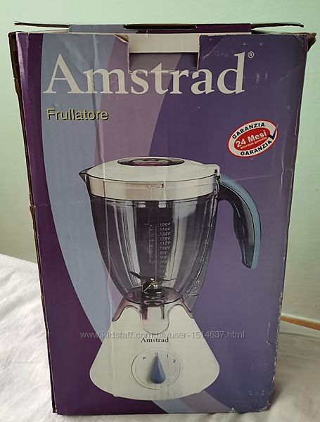 Блендер з чашею 300 Вт, 1,5 л, 2 швид. Amstrad BL3