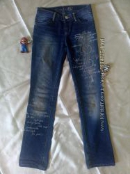Синие джинсы Gloria Jeans