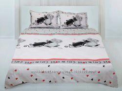 Семейный комплект постельного белья ТЕП