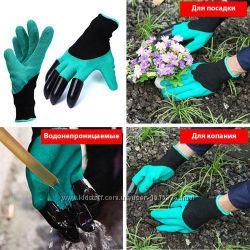 Уникальные Перчатки Садовые Garden Genie Glove для работы в саду
