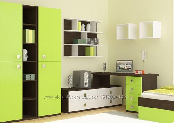 Модульні меблі у дитячу та підліткову кімнату Сіті