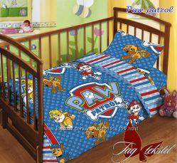 Детское постельное бельё в кроватку 100 хлопок