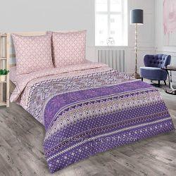 Комплект постельного белья из поплина 100 хлопок
