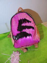 Красивый яркий рюкзак с перевертышами в наличии