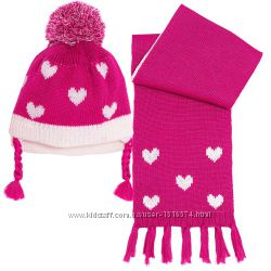 Наборы Chicco шапка и шарф на 62, 68, 74, 80, 86, 92 см
