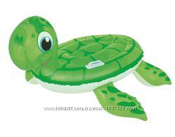Черепаха 41041 надувная Bestway, плотик, игрушка, надувная черепаха
