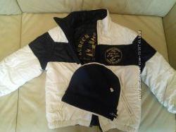 Двусторонняя куртка Original Marines на 3-4 годашапочка