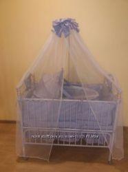 Детская кровать Geoby TLY-632R-RPUR