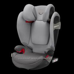 Автокресло CYBEX Solution S-fix  Manhattan Grey-mid grey PU2