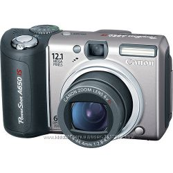 Canon PowerShot A650 IS с поворотным дисплеем