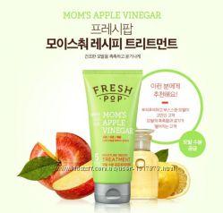 Увлажняющая маска для волос Fresh Pop Mom&acutes Apple Vinegar Treatment 180ml