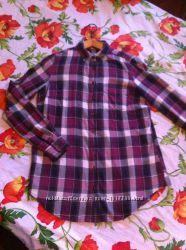 Рубашка клетчатая , размер xs