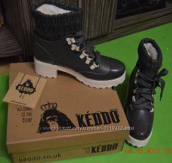 Ботинки зимние на каблуках KEDDO