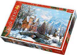 пазли Трефл на зимову тематику, з символом Нового року