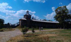 Гетьманская столица - Батурин и собор в Козельце.