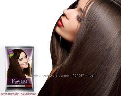 Натуральная травяная краска для волос на основе хны.  Цвет натур. коричневый