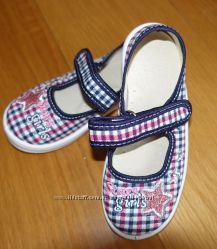 493932cbf Текстильная обувь для девочек для сада - размеры 24, 165 грн ...