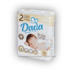 Подгузники ДАДА Dada Little one 2 mini 3-6 кг 74 шт в наличии