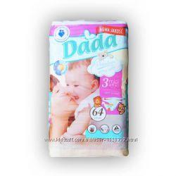 Подгузники ДАДА Dada Extra Soft 3 midi 4-9 кг 64 шт
