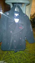 Шерстяное пальто для мальчика