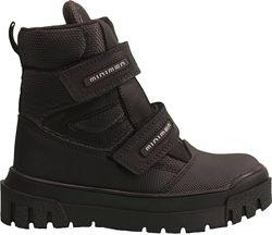Ботинки Minimen 12NEWBLACK20 р. 26, 27, 28, 29, 30  Ч