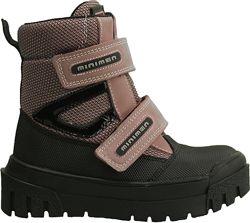 Зимние ортопедические ботинки для девочки фирмы Минимен. Новая коллекция.