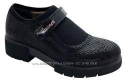 Школьные ортопедические туфли для девочки фирмы МИНИМЕН. Новая коллекция.