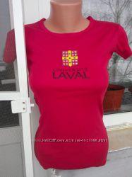 Яркая футболка от Fit-l, размер М но будет ХS-S . 100 коттон.