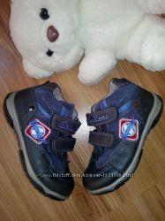 Кожаные деми сезонные ботиночки, размер 23