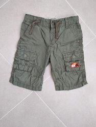 Хорошенькие шорты - бриджи цвета хаки от Rocha Little Rocha на 2 - 5 лет