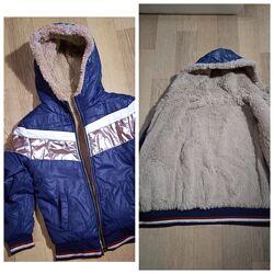 Куртка на весну демисезонная  р 122-128
