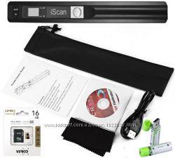 Акция на ручной сканер IScan  sd карта 16 GB и usb аккумуляторы 1450