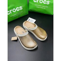Crocs literide metalic w8