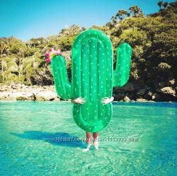 Надувной кактус. Для пляжа бассейна и вечеринок. Размер 180 см.